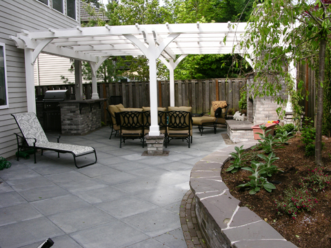 The great backyard makeover creative garden spaces for Great outdoor patio ideas