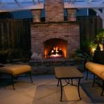 Night - Fireplace
