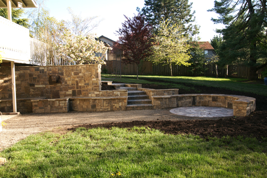 Landscaping Project 5 - Acreage in Transition